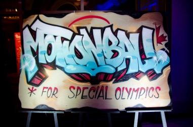 motionball graffiti sign