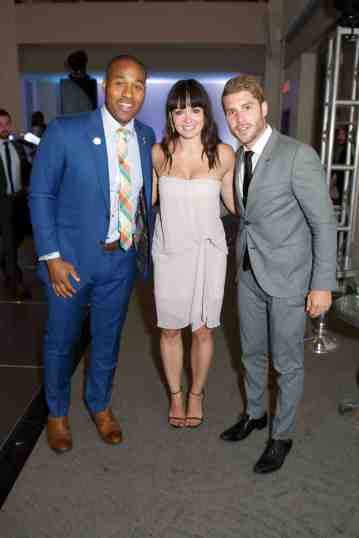 Cabbie Richards, Jennifer Love, and Cam Healey/ All-Star Gala for Sick Kids