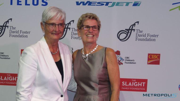Premier Kathleen Wynne and Jane Rounthwaite/Image: Carla Hernandez