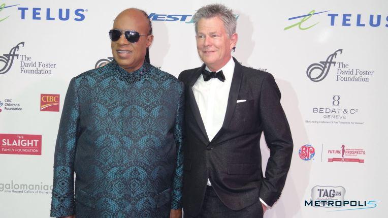 Stevie Wonder and David Foster/Image: Carla Hernandez